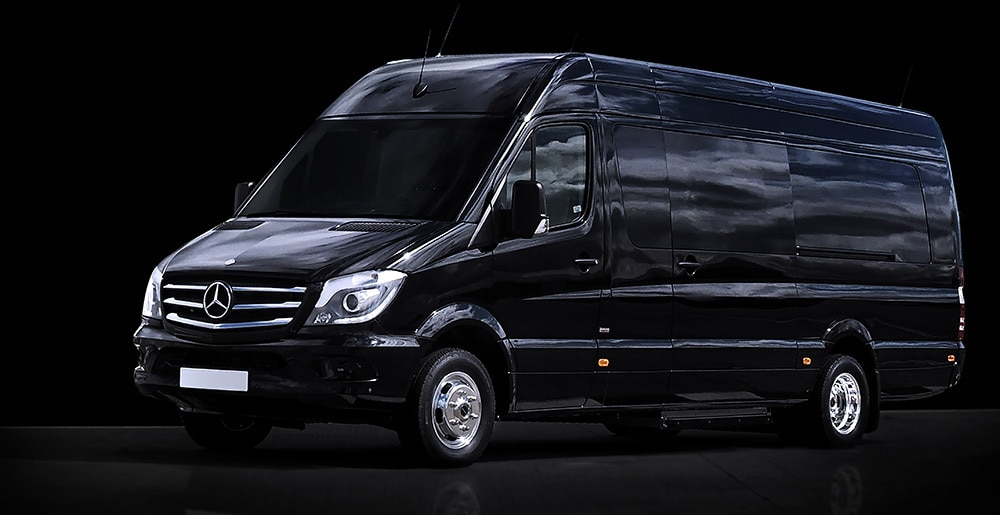 5b9a6e15ff Stunning luxurious Passenger Vehicles based on the new Mercedes-Benz  Sprinter.