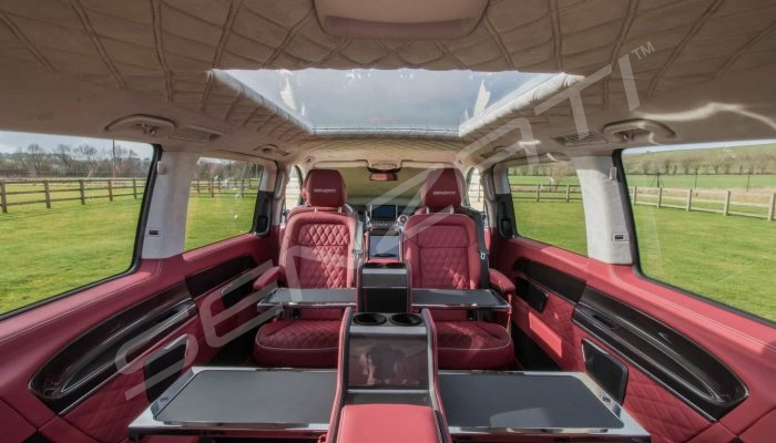 Senzati V Class Jet Class 6 Seat Business Plus Model Red Pic 1