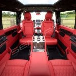 Senzati V Class Jet Class Business Plus Model In Red With 6 Seats Pic 2