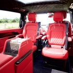Senzati V Class Jet Class Business Plus Model In Red With 6 Seats Pic 4