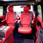 Senzati V Class Jet Class Business Plus Model In Red With 6 Seats Pic 5