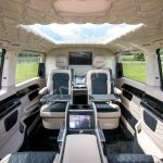 Senzati V Class Jet Class Jet Spec With Twin Consoles Black Cream Interior Pic 2