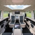Senzati V Class Jet Class Jet Spec With Twin Consoles Black Cream Interior Pic 3