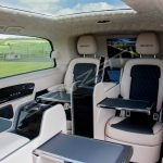 Senzati V Class Jet Class Jet Spec With Twin Consoles Black Cream Interior Pic 5