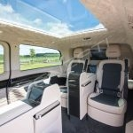 Senzati V Class Jet Class Jet Spec With Twin Consoles Black Cream Interior Pic 7