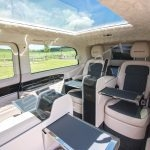 Senzati V Class Jet Class Jet Spec With Twin Consoles Black Cream Interior Pic 8