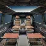 Senzati V Class Jet Class Jet Spec With Twin Consoles Blue Brown Interior Pic 1