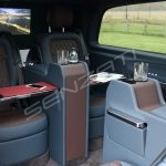 Senzati V Class Jet Class Jet Spec With Twin Consoles Blue Brown Interior Pic 4