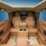 Senzati V Class Jet Class Jet Spec With Twin Consoles Brown Beige Interior Pic 2
