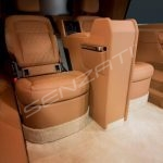 Senzati V Class Jet Class Jet Spec With Twin Consoles Brown Beige Interior Pic 3