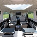Senzati V Class Jet Class Jet Spec With Twin Cream Consoles & Suede Uppers Pic 1