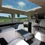 Senzati V Class Jet Class Jet Spec With Twin Cream Consoles & Suede Uppers Pic 3