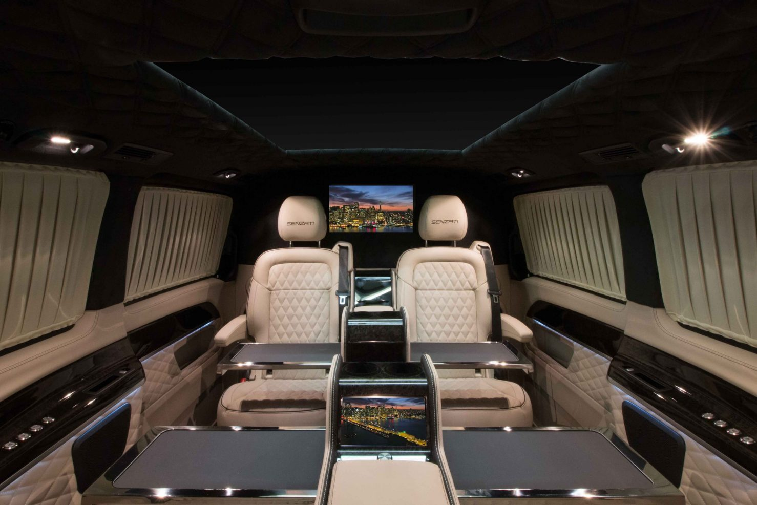 The Senzati Jet Class, Fabulous Interiors to suit a variety of uses