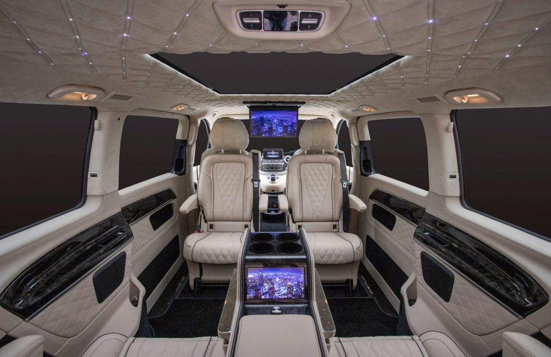 Luxury Merecdes People Carrier 3